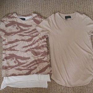 Mens casual t shirts size small